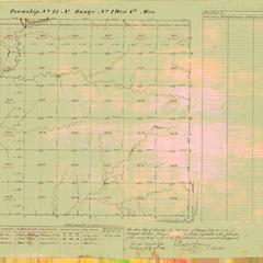 [Public Land Survey System map: Wisconsin Township 15 North, Range 01 West]