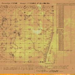 [Public Land Survey System map: Wisconsin Township 18 North, Range 23 East]