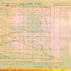 [Public Land Survey System map: Wisconsin Township 17 North, Range 06 East]
