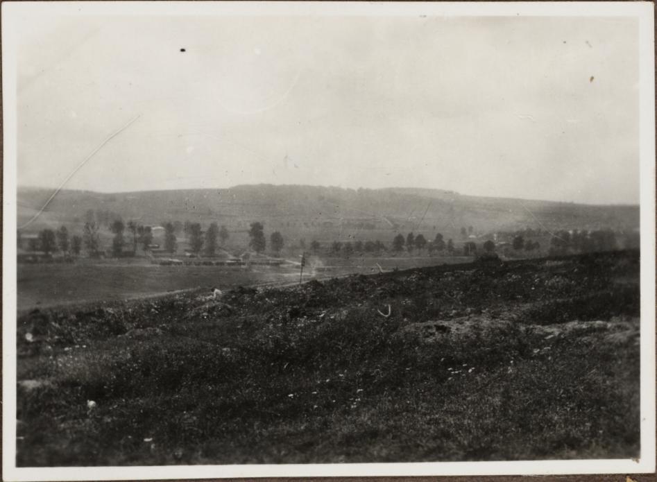 Die Höhen von Azannes bei Verdun