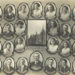 1923 Swiss Reformed Church confirmation class