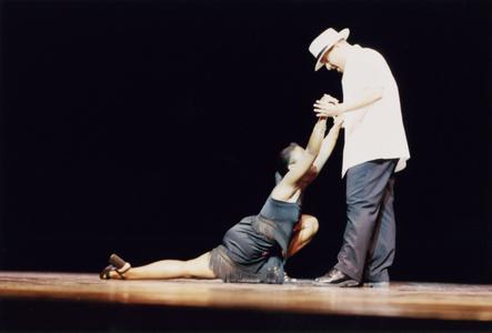 Salsa dancing at the 2001 MCOR