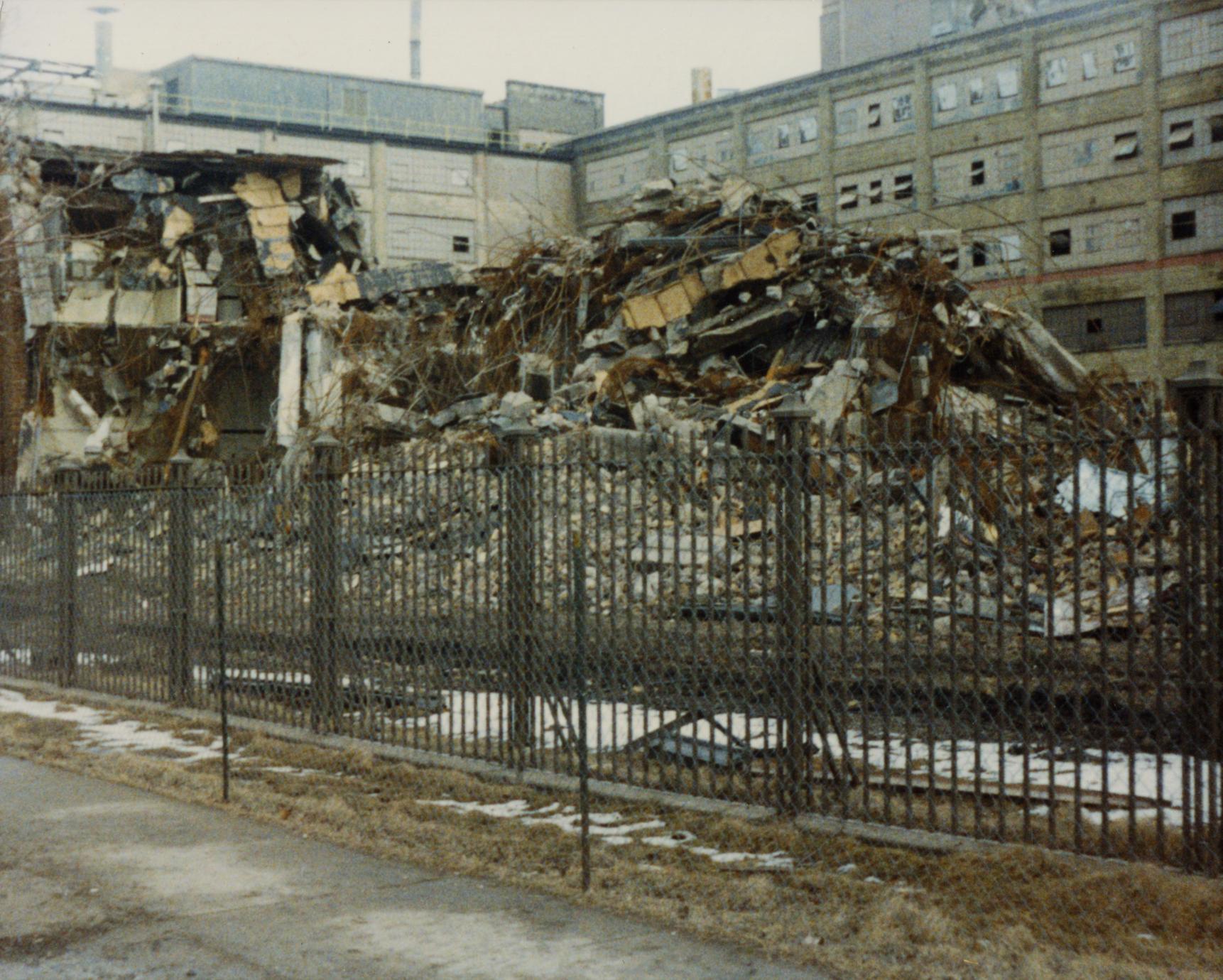 American Motors Corporation lakefront plant demolition