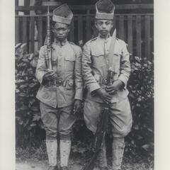 Moro Soldiers, Mindanao, 1899-1901