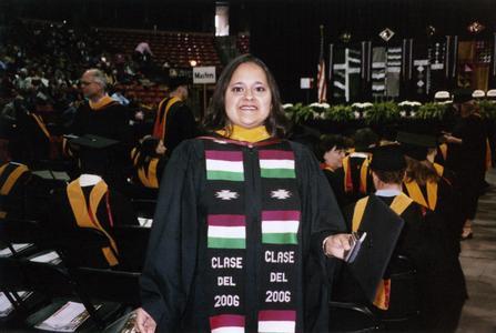 Deseree Alva at 2006 graduation