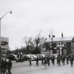 Parade in front of Puetz Motors