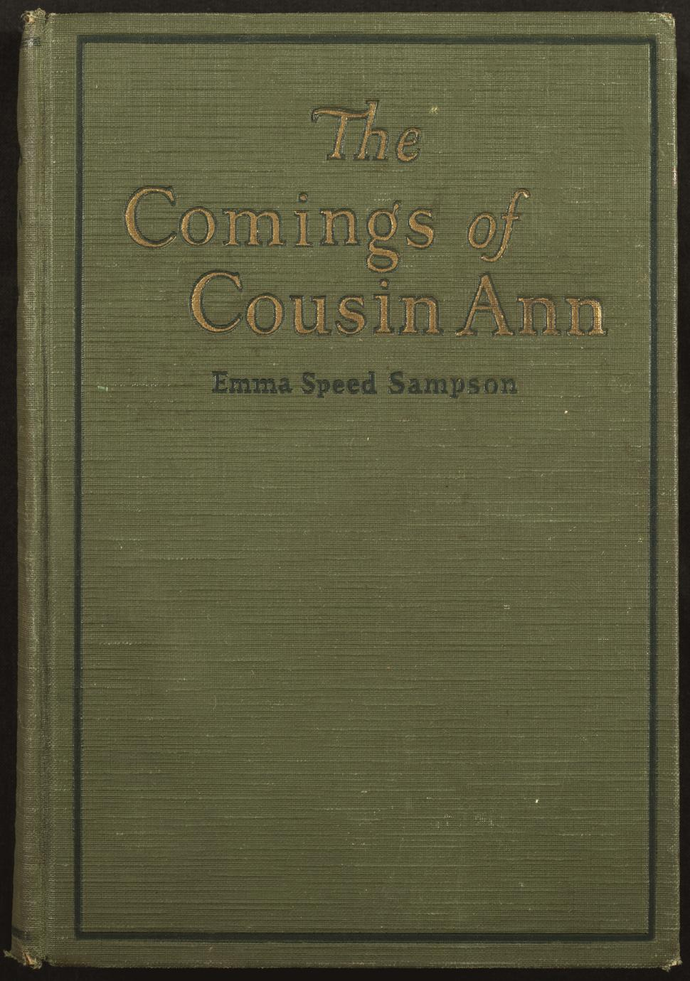 Comings of Cousin Ann (1 of 2)