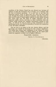 Page 35 - Report of the librarian - Twenty-eighth and twenty-ninth annual reports of the Minneapolis Public Library, 1917-1918 28th/29th [1919?]