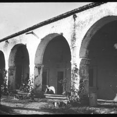 San Juan Capistrano Prof. Slichter at . . . Mission