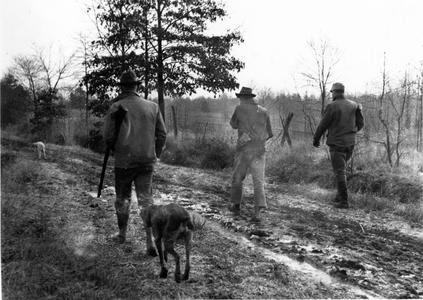 Aldo Leopold, Carl and Ray Roark hunting
