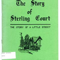 The story of Sterling Court : the story of a little street : being an elementary reader for adults on city planning