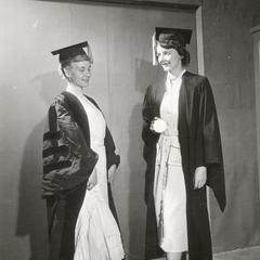 Graduation gowns past and present