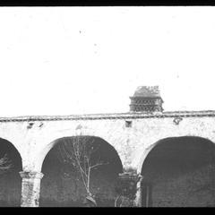 San Juan Capistrano Old chimney at . . . Mission