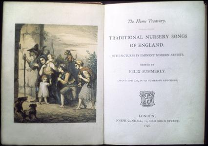 Traditional nursery songs of England : with pictures by eminent modern artists
