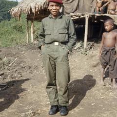 Ethnic Khmu' soldier