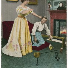 I've suffered ever since, suffrage postcard
