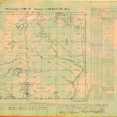 [Public Land Survey System map: Wisconsin Township 19 North, Range 11 East]