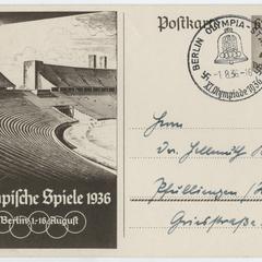 Olympische Spiele 1936 Berlin 1.-16. August