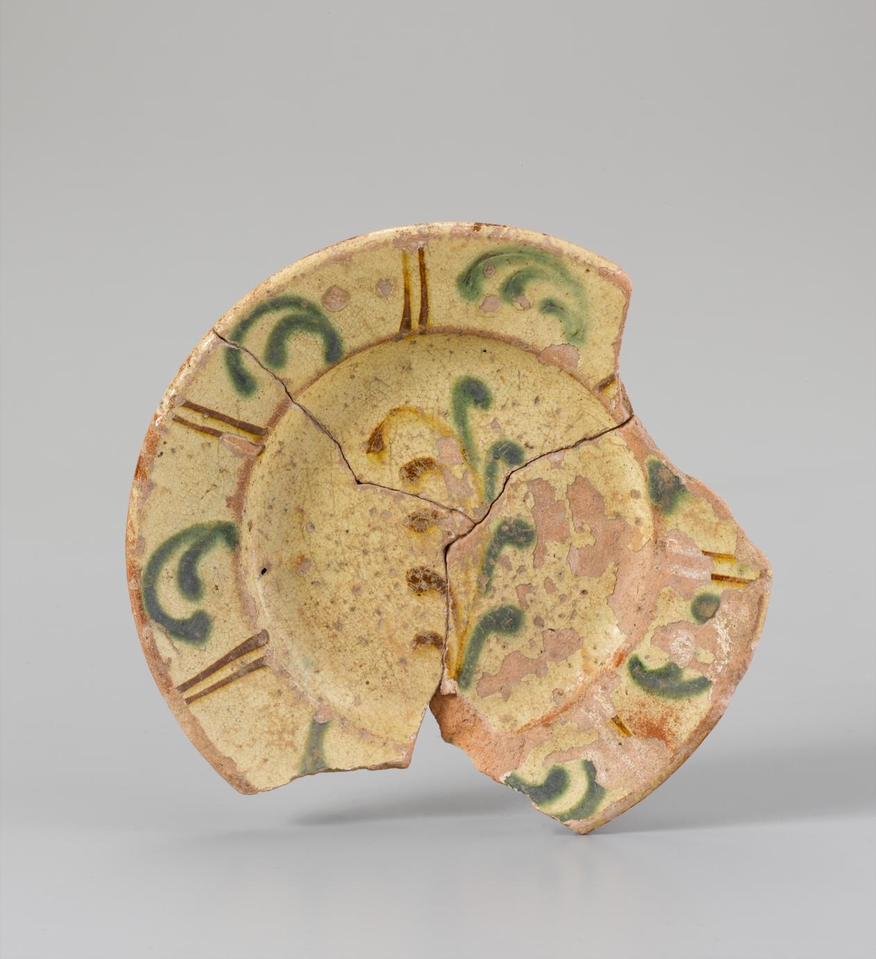 Fragmentary dish