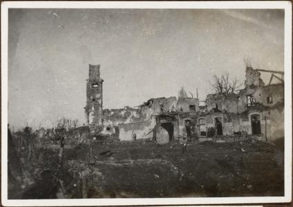 Die Vorstadt St. Peter bei Görtz in Italien