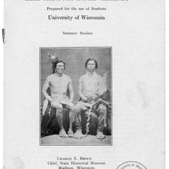 Lake Mendota Indian legends : prepared for the use of students, University of Wisconsin summer session