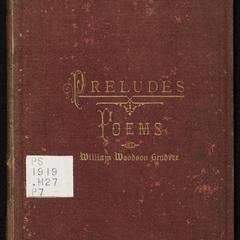 Preludes : poems