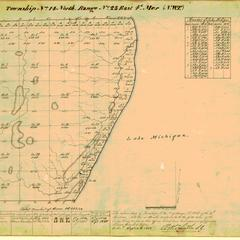 [Public Land Survey System map: Wisconsin Township 14 North, Range 23 East]