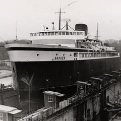 S.S. Badger at port