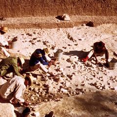 Excavation near Melka Conture
