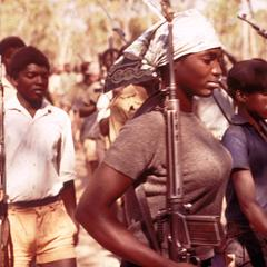 Female Soldier in the Popular Resistance Movement for the Liberation of Angola