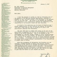 Aldo Leopold papers : 9/25/10-2 : Organizations, Committees