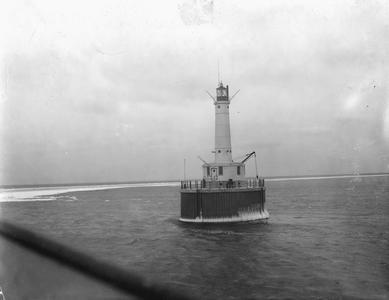 Peshtigo Reef Light and Fog Signal Station, Menominee, Michigan