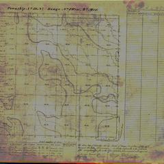 [Public Land Survey System map: Wisconsin Township 19 North, Range 01 West]