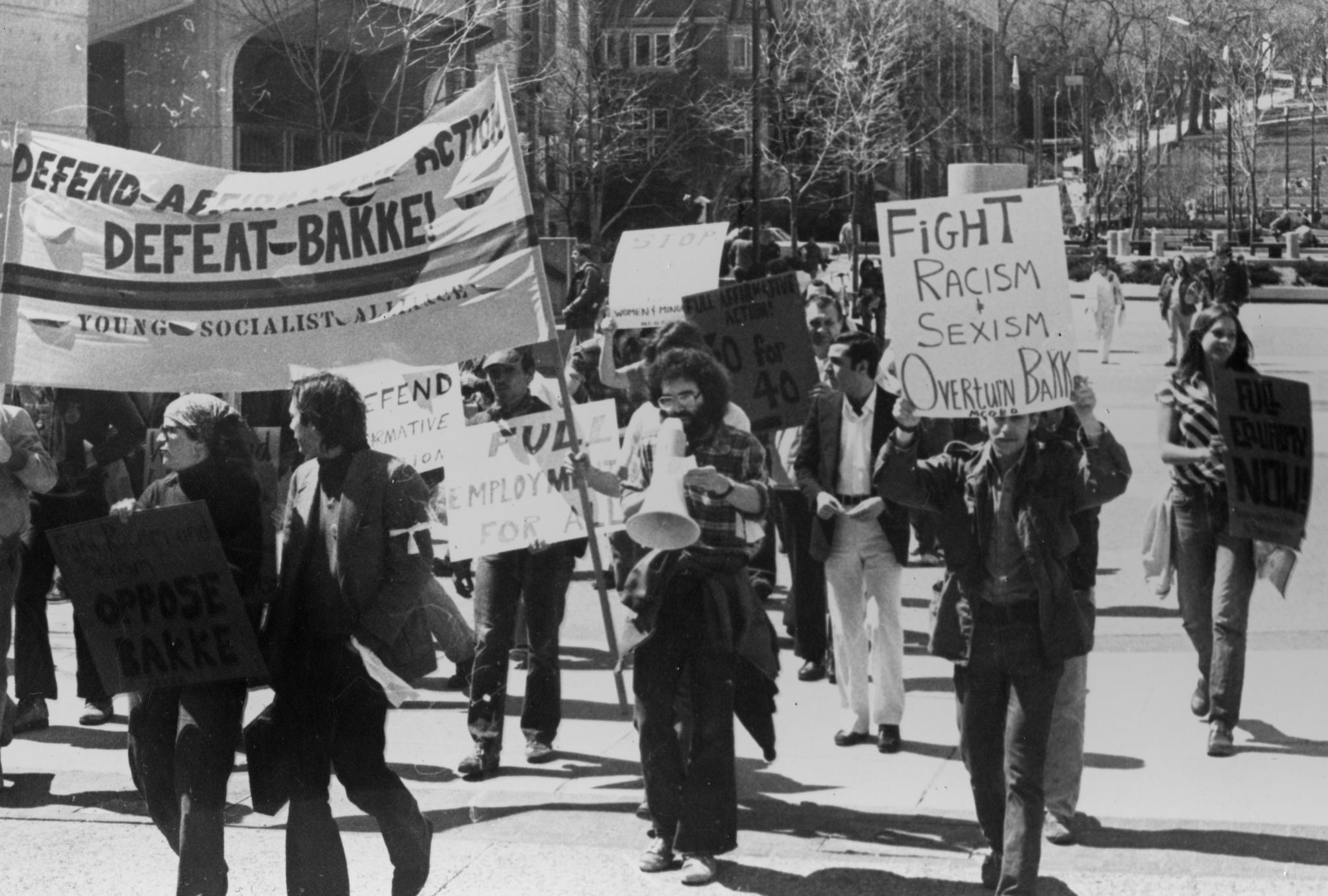 Anti-Bakke protest