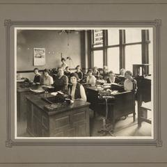Women at their desks