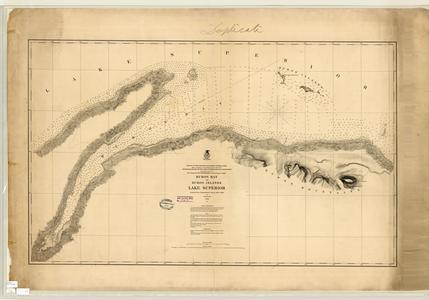 Huron Bay and Huron Islands, Lake Superior