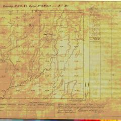 [Public Land Survey System map: Wisconsin Township 33 North, Range 08 East]