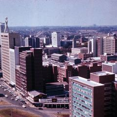 Suburb of Salisbury (Harare) Looking from Livingston House