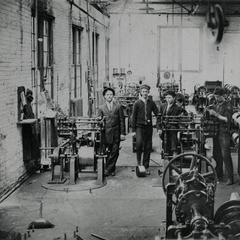 MacWhyte employees in factory