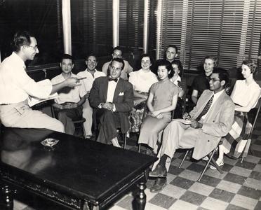 International Club summer board 1950