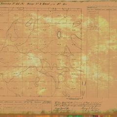 [Public Land Survey System map: Wisconsin Township 35 North, Range 02 East]