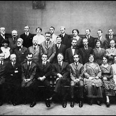 New York Public Library Chiefs and Administrative Heads, 1919