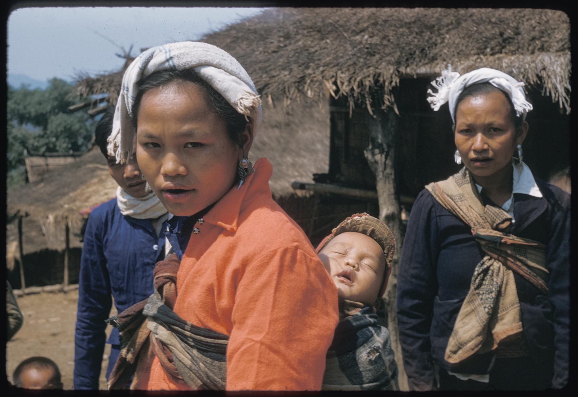 Kammu (Khmu') villagers all dressed up