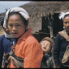 Kammu (Khmu') villagers all dressed up