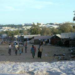Immigrants at Edge of Mogadishu