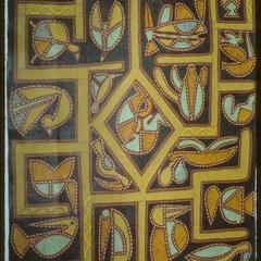 Title Unknown, textile by Jota da Cunha