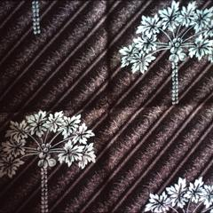 "Typical Fabric for Krio Dress Using ""Paw-Paw"" Design"