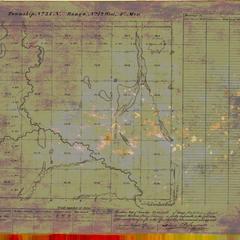 [Public Land Survey System map: Wisconsin Township 34 North, Range 12 West]