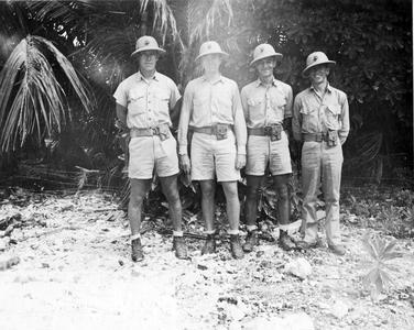 Carl Leopold, First Defense Battalion