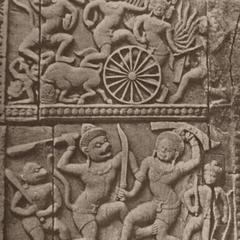 Hindu Carving Detail